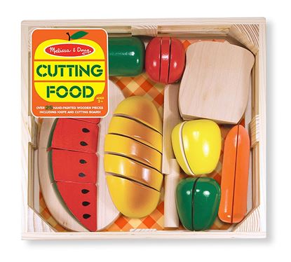 Picture of Melissa & Doug Cutting Food - Wooden Play Food