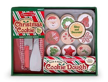 Picture of Melissa & Doug 15158 Slice & Bake Christmas Cookie Play Set