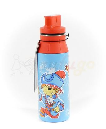 Picture of alfi 5377147060 elementBottle 0,6 l Edelstahl Pirates blau