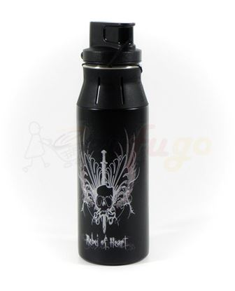 Picture of alfi 5377108060 elementBottle 0,6 l Edelstahl Rebel of heart