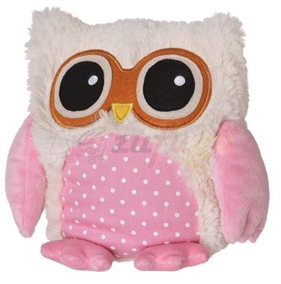 Picture of Warmies 16003 POP! Eule beige/rosa