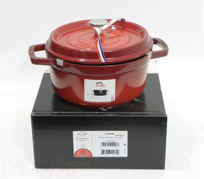 Picture of <outlet> Staub 40509-825 Cocotte Gusseisen rund 22cm kirschrot