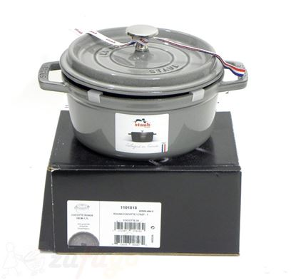 Picture of <outlet> Staub 40509-484 Cocotte 18 cm, rund, grau